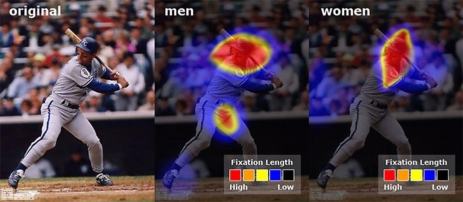 사용자의 지각 perception 측정 이미지